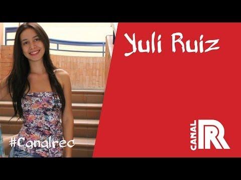 Yuli Ruiz y uno de tantos intentos de grabación para la promo #CanalREC thumbnail
