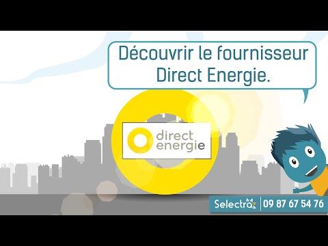 Direct Energie - Comparatif des offres d'électricité et de gaz