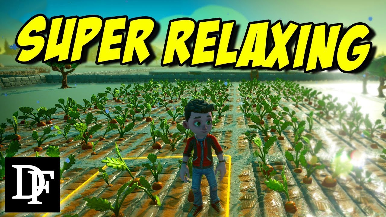 Relaxing New Farming Simulator That S Multiplayer Farm Together First Look Youtube