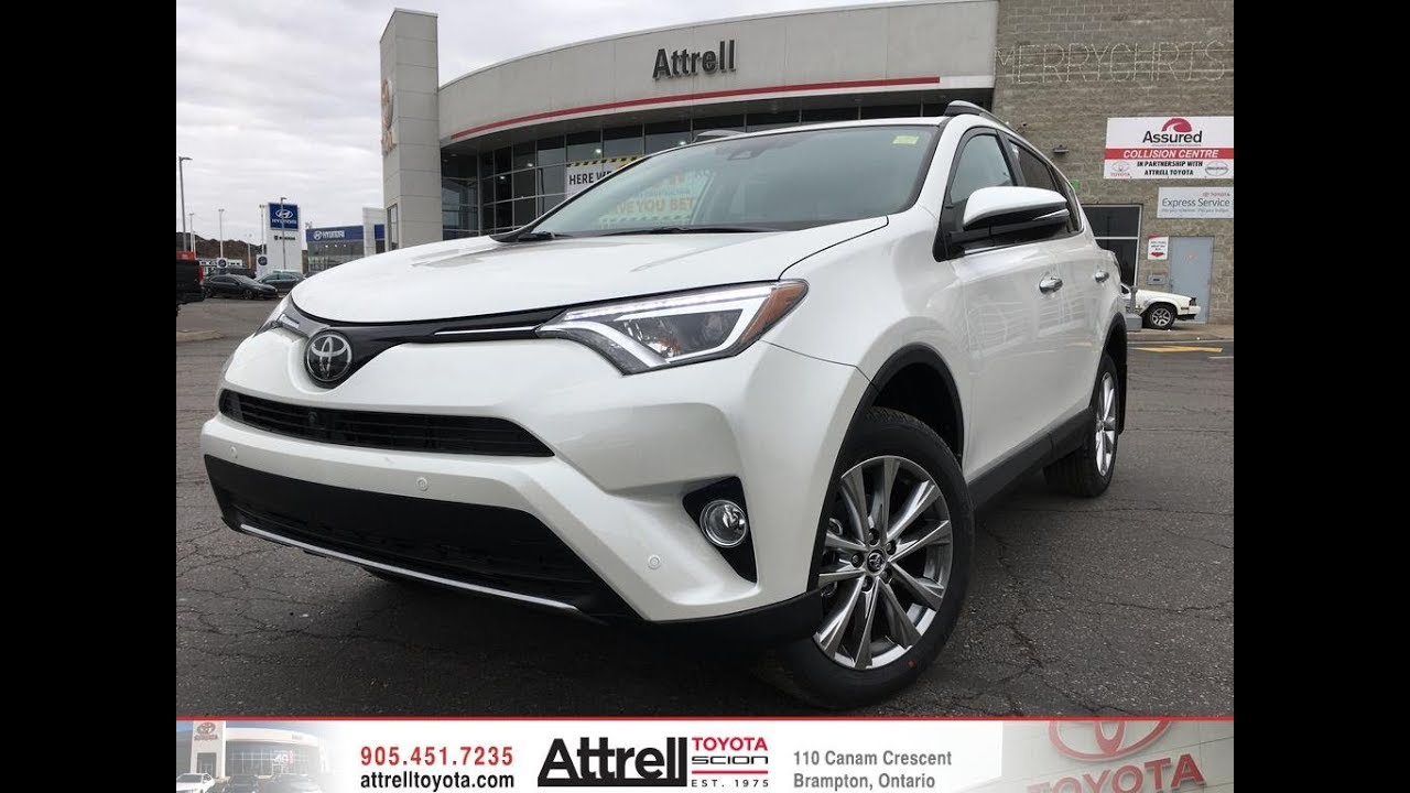 2018 toyota rav4 awd limited review - brampton on - attrell toyota
