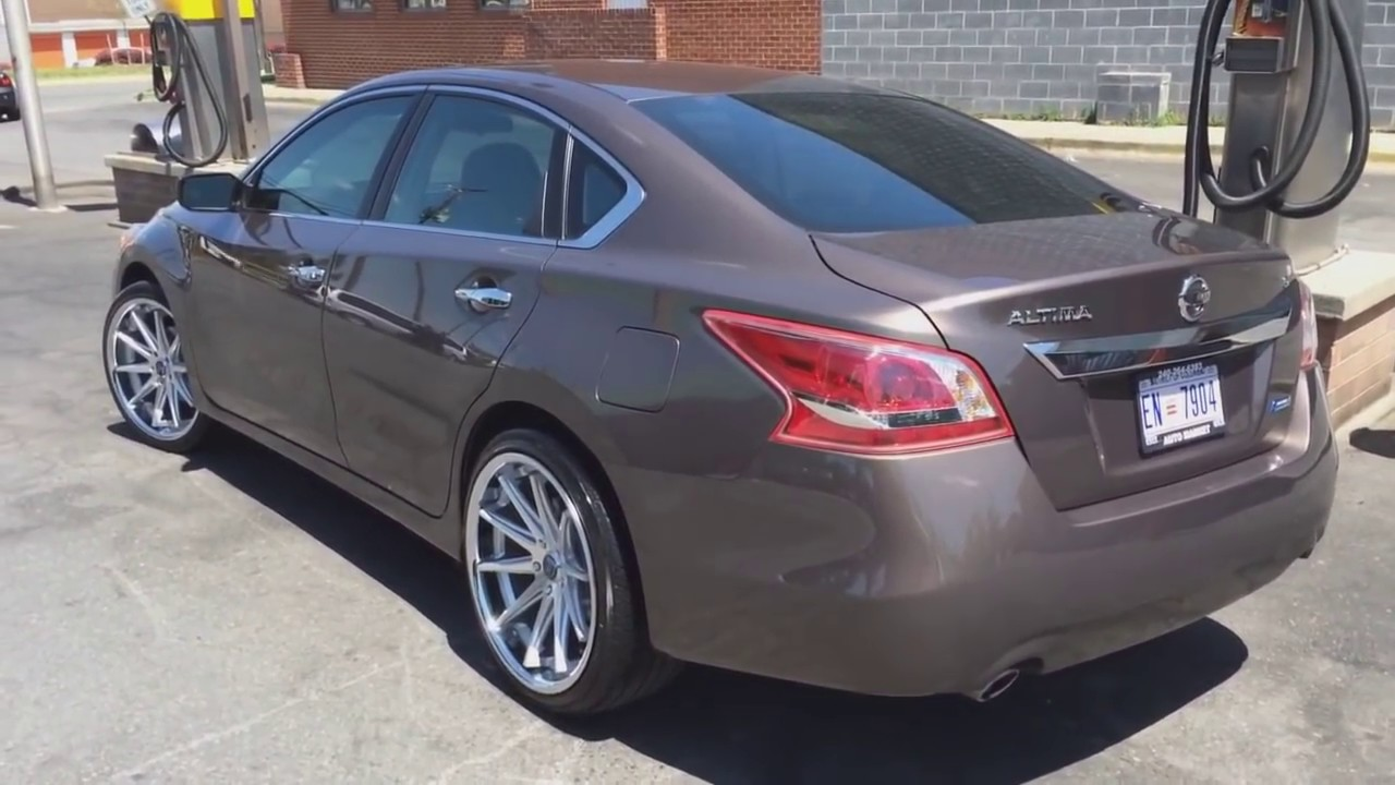 Best Looking 2013 Nissan Altima Riding On 20 Rohana Rims