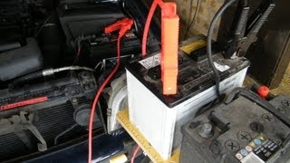 Battery Change with Immobiliser Active