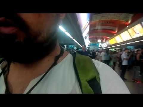 2х уровневое воздушное метро в Бангкоке,2level sky train metro subway BTS Bangkok travel guide