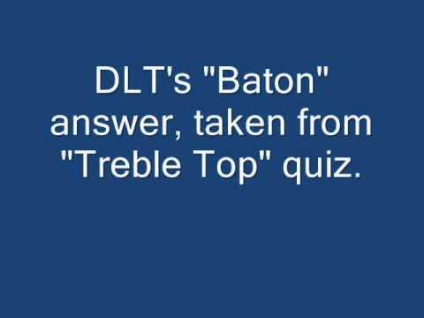 "DLT's Baton Answer including ""Are we on?"" BBC Radio 1"