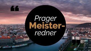 Prager Meisterredner | Entfache meisterhafte Reden