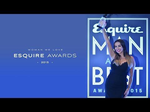 Joelle  Esquire Award  Magazine Award 2015- جائزة جويل في حفل  مجلة اسكوير