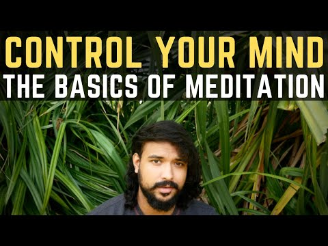Control Your Mind | The Basics Of Meditation | Mindfulness | Meditation Techniques For Beginners