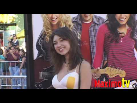 SHELBY YOUNG at Bandslam Premiere August 6, 2009 Maximo TV