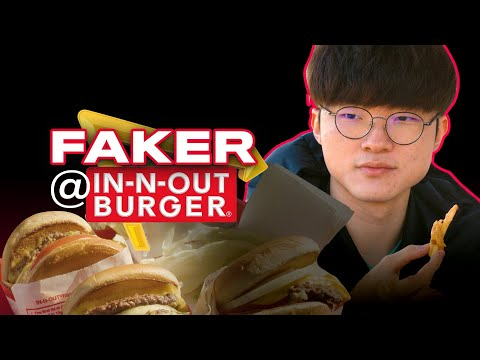 Faker Goes To In-N-Out!