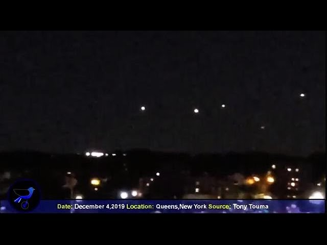 Giant Sphere UFO   Multiple NON-HUMAN UFO's Sighted Over New York ! Dec 5,2019 - THE REAL DEAL