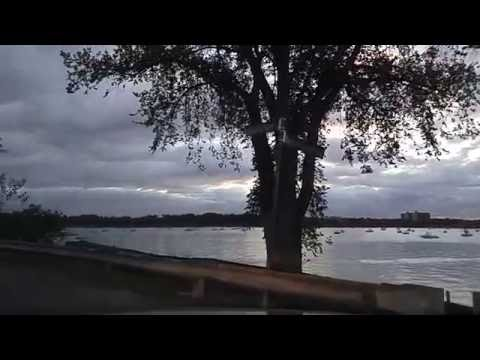 Driving by Douglaston Queens,New York