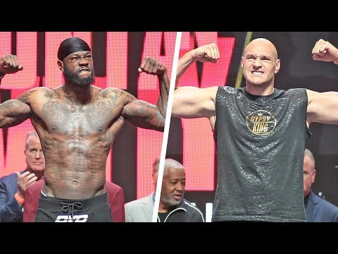 Deontay Wilder vs. Tyson Fury II • FULL WEIGH IN & FACE OFF • Heavyweight Championship Boxing