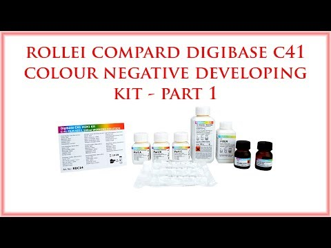 Digibase C41 Color Negative Developing Kit - Part 1 Rollei Compard
