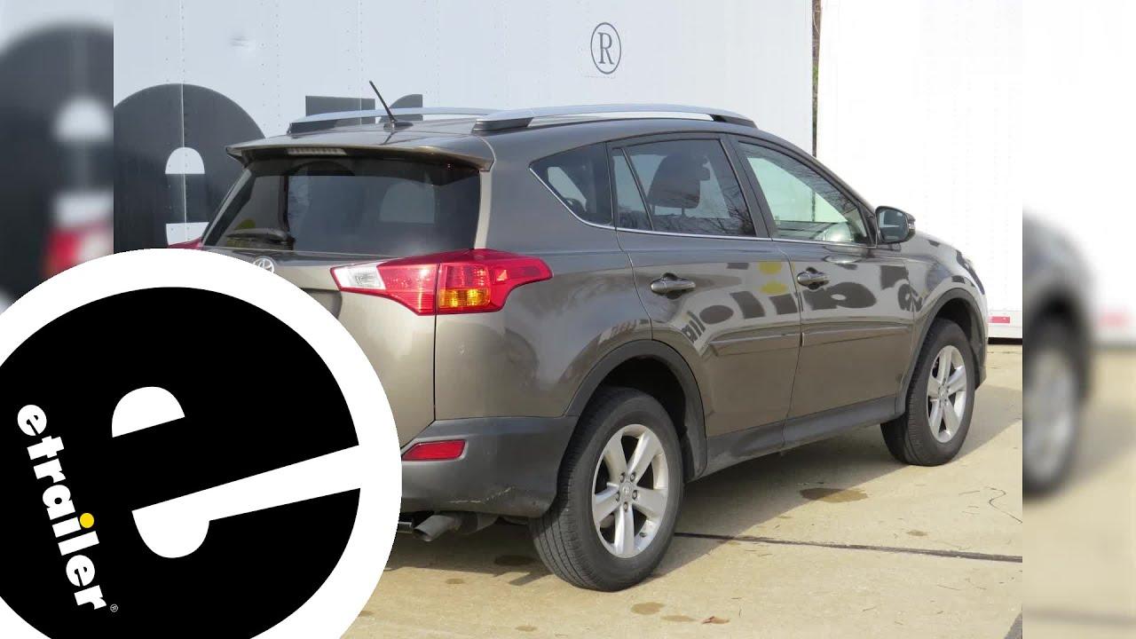 Tow Ready Trailer Wiring Harness Installation - 2014 Toyota RAV4 - on