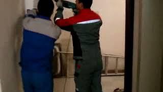 видео Установка тамбурных дверей