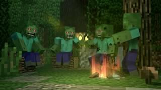 HORROR CLOWN SIGHT IN MINECRAFT feat. Samgladiator & Einshine - Minecraft Animation