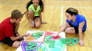 Teach healthy eating with this physical education nutrition game