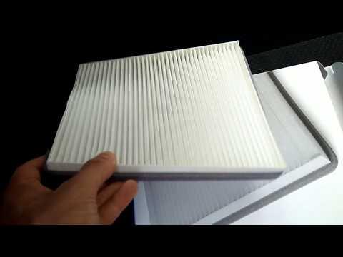 Как менять фильтр печки на приора люкс