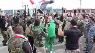 اللجنة الاولمبية  الوطنية العراقية تدعم انتصارات الجيش والبيشمركة والحشد الشعبي