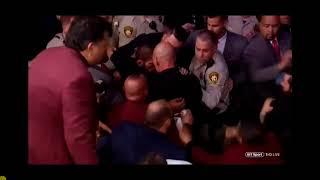 Масов бой с публиката след мача Хабиб Нурмагомедов и Колин Макгрегър