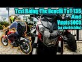TEST RIDING THE BENELLI TNT 135 AND VMOTO SOCO (ELECTRIC BIKE)    NOT A REVIEW    Motovlog   Nepal