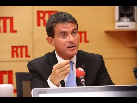 Manuel Valls, invité de RTL le 6 septembre 2016