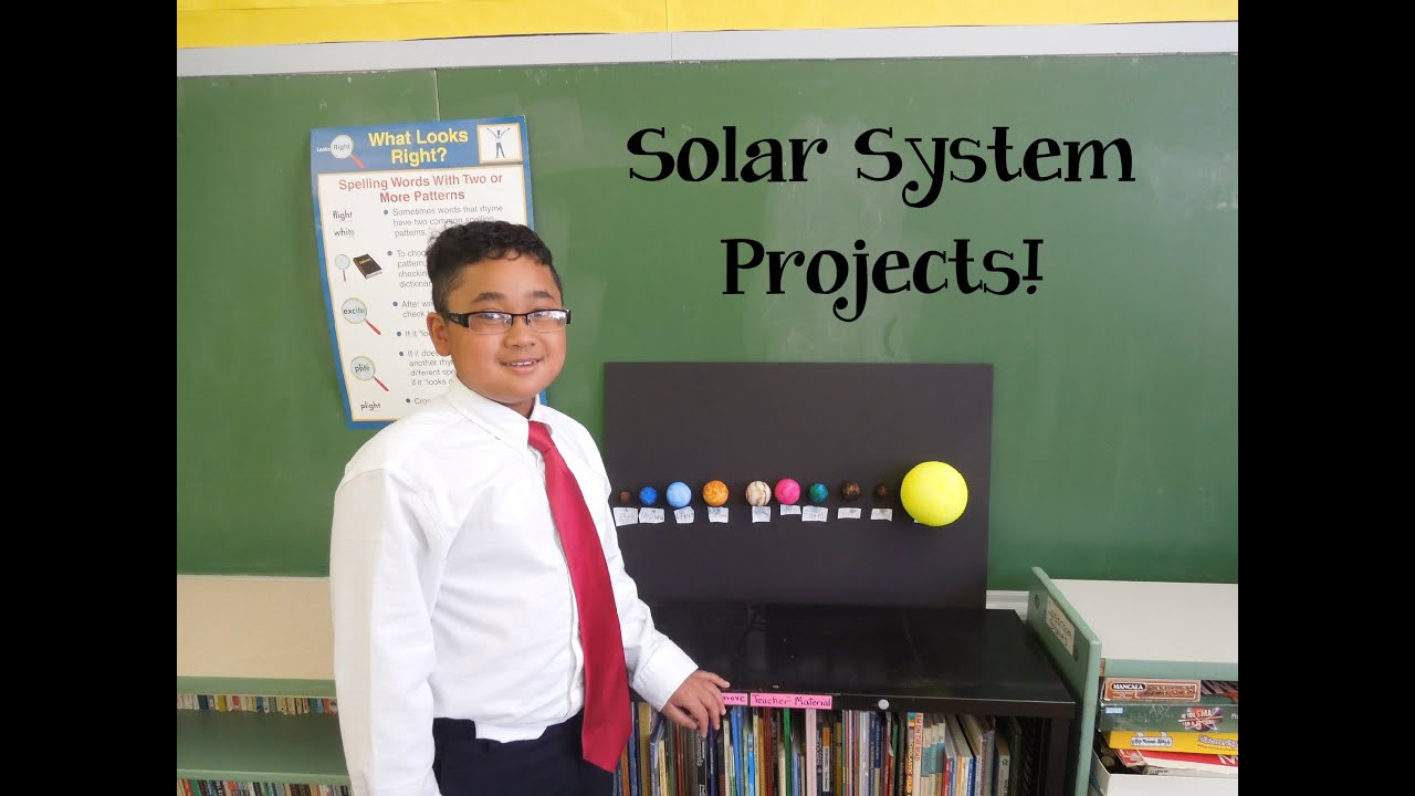 5th Grade Solar System Projects Youtube