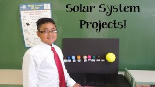 5th-grade Solar System Projects!