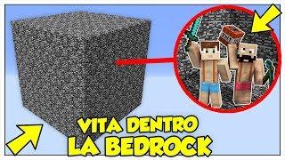 SI PUÒ SOPRAVVIVERE IN UN CUBO DI BEDROCK? - Minecraft ITA