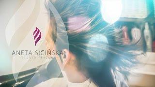 Szybka Awangardowa Stylizacja Aneta Sicinska Studio Fryzura krótkie włosy uczesanie Film Reklamowy
