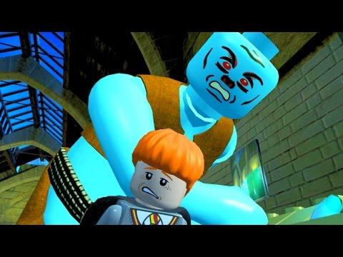 Lego Harry Potter Remastered Part 3 Troll Attacks the Hogwarts, Troll Bathroom Boss Fight