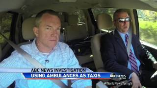 Undercover Video: Using Ambulances as Taxis