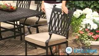 Palazetto Milan Collection Cast Aluminum Patio Dining Set Seats 8 - Product Review Video