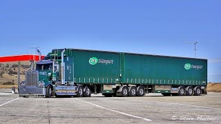 P3 Transport Kenworth T909 in Central Victoria