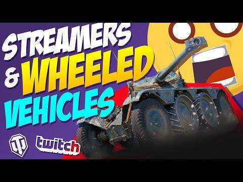 Streamers vs Wheeled Vehicles | World of Tanks thumbnail