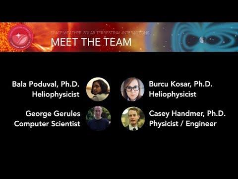 2017 FDL Talk - Team 5: Space Weather: Solar-Terrestrial Interactions (SETI Talks 2017)