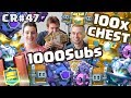 1000 Subs Special Chest Opening  | Special Guest | Clash Royale SK CZ
