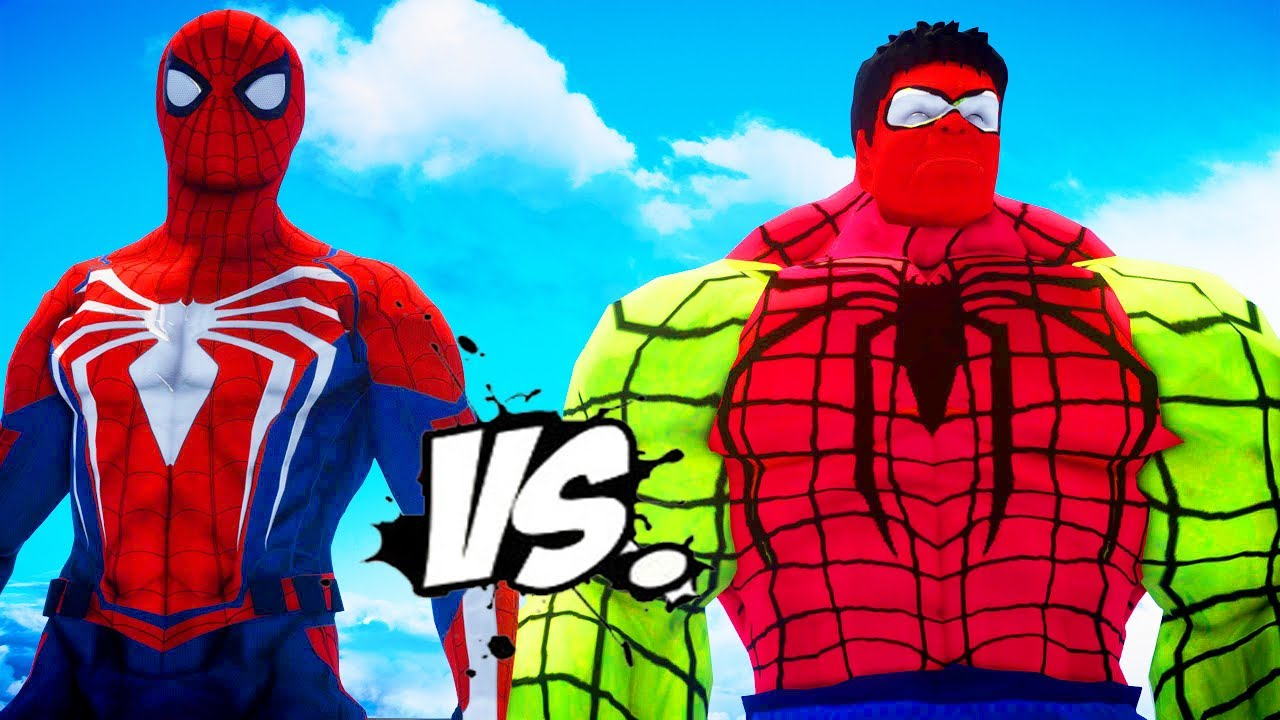 SPIDERMAN VS SPIDER HULK - EPIC SUPERHEROES WAR - YouTube