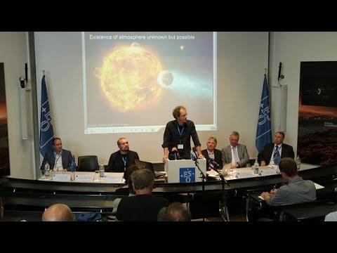 Press Conference at ESO HQ