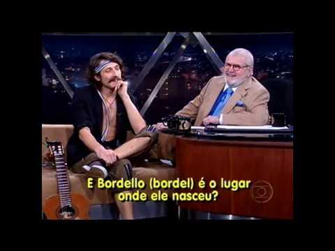 Gogol Bordello Entrevista Jô Soares - Parte I