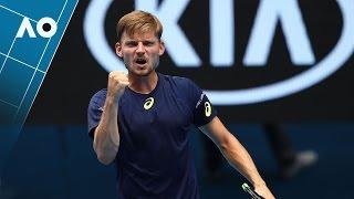 Thiem v Goffin match highlights (4R)  | Australian Open 2017