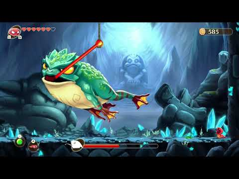 Monster Boy And The Cursed Kingdom Boss 4 - Ancient Frog