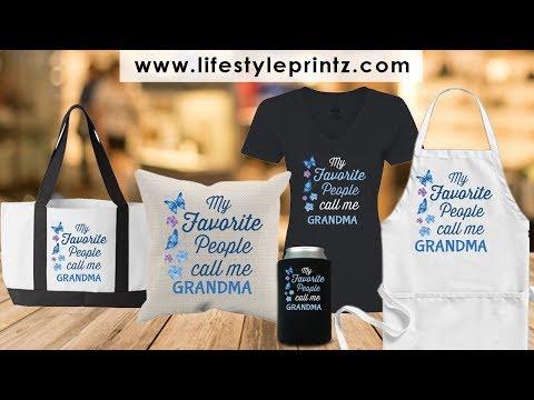 Personalized Gift For Grandma - Nana T Shirts Personalized - Funny Grandma Gifts