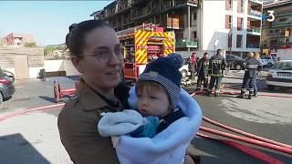 Un violent incendie ravage un immeuble de quatre étages en pleine nuit à Draguignan