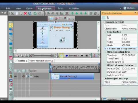 Cara Menyimpan File Yang Sudah di Potong - VSDC Edit Video