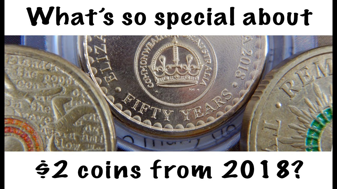 2018 Australia 30th Anniversary of the TWO DOLLAR COIN $2 Twelve Coin Collection