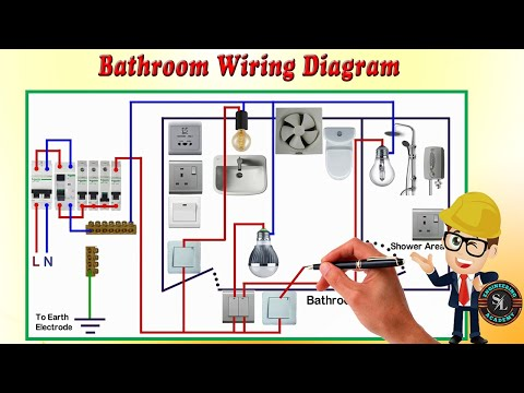 Simple Bathroom Wiring Diagram from i.ytimg.com