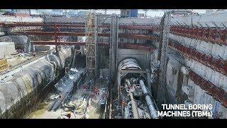 MRT SSP Line Project Progress Video (2017-2018)