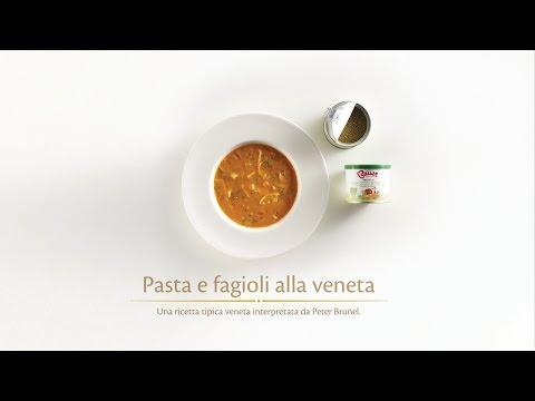 Ricetta - Pasta e fagioli alla veneta - BAUER