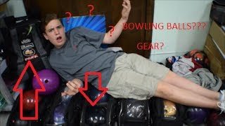 What's in my Bowling Bag? Bowling Balls + Gear